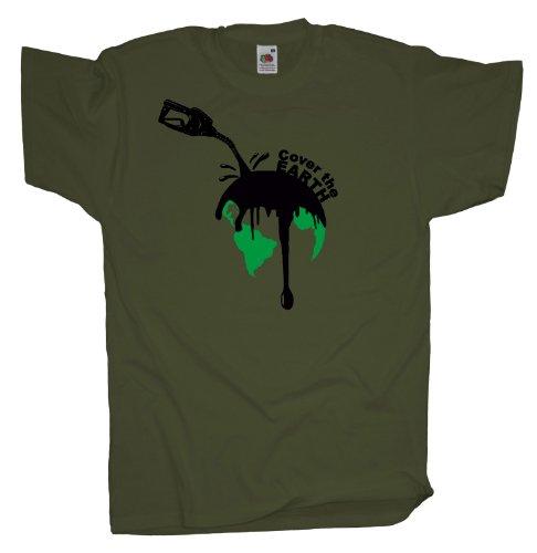Ma2ca - Schütze die Erde - T-Shirt Olive