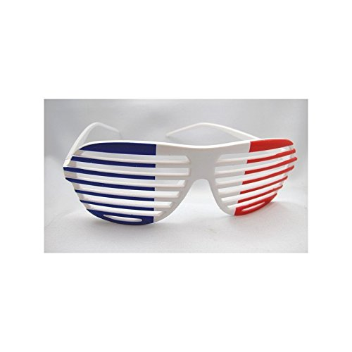 Desconocido Generic – Glasses Blind Flag of France
