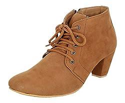 Exotique Womens Tan Casual Boot (EL0040TN-37)
