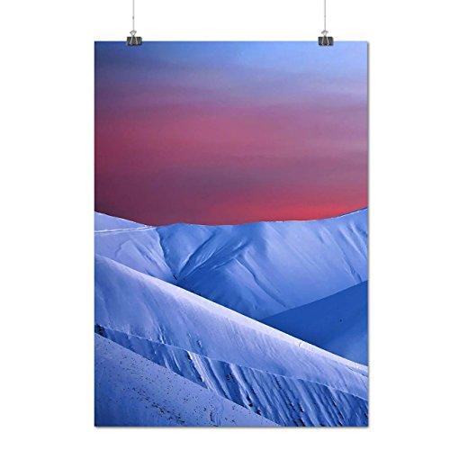 mountain-freedom-nature-ice-glacier-matte-glossy-poster-a2-60cm-x-42cm-wellcoda