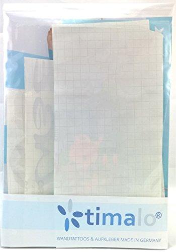 Wandtattoo 68097-58×25 cm, ~ Text: Liebe macht Träume wahr.. ~ Wandaufkleber Wandtatoos Sticker Aufkleber für die Wand, Fensterbild, Tapetensticker, Türaufkleber, Tattoo aus Markenfolie – aus 32