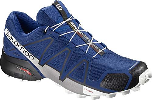 Salomon Speedcross 4 Trail Laufschuh Herren blau/schwarz, 11.5 UK - 46 2/3 EU - 12 US - 11.5 Herren Schuhe