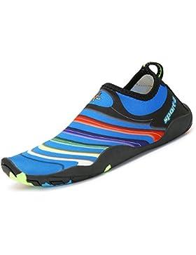 SAGUARO® Kinder Badeschuhe Aquaschuhe Schwimmschuhe Wasserschuhe Strandschuhe Water Shoes für Jungen Mädchen