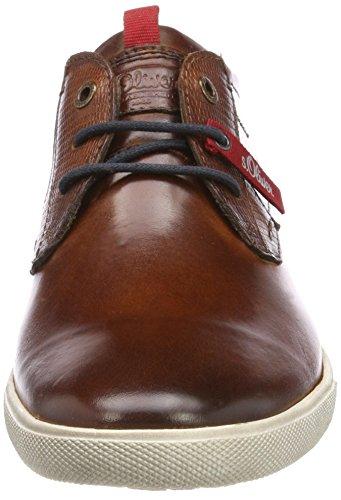 s.Oliver 13609, Sneakers Basses Homme Marron (Cognac)