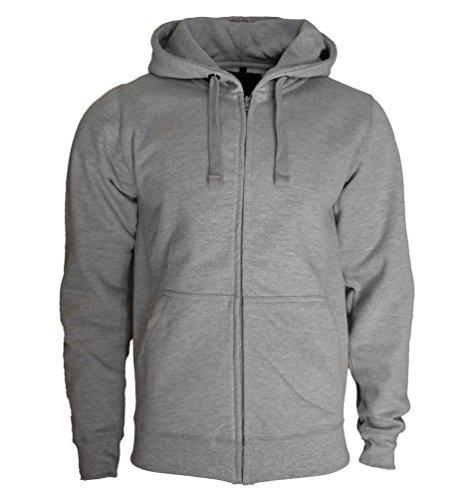 ROCK-IT Herren Zipper Hoodie Kapuzen Sweater Jacke Workerhoodie Pullover in Größen  XS-5XL