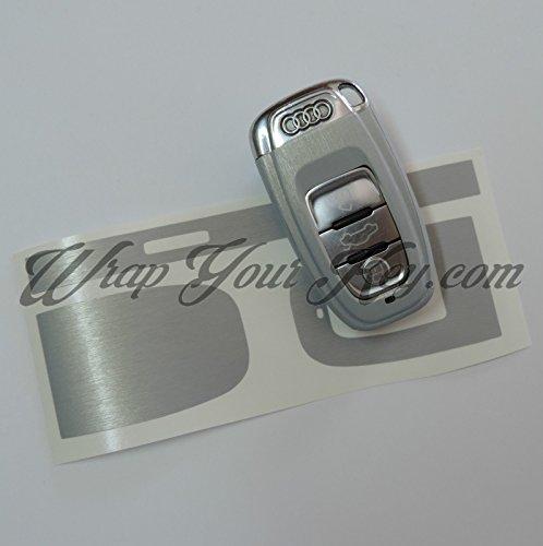 In alluminio spazzolato, Cover Chiave Audi Smart Remote A1A3, A4, A5, A6, A8TT Q35Q7