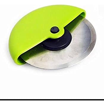 Tosmy Stainless Steel Pizza Cutter, Multicolour