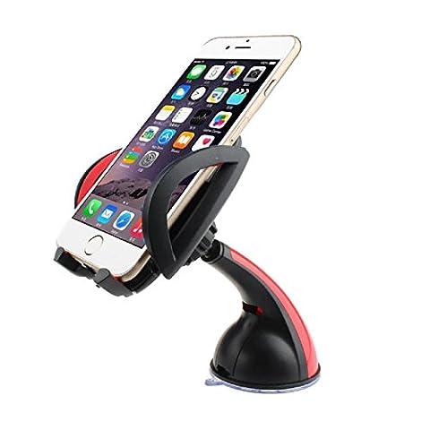 Pare-brise de voiture support de fixation, Transer® universel de voiture pare-brise support pour iPhone6Plus GPS Note4téléphone portable support de voiture téléphone support Supports