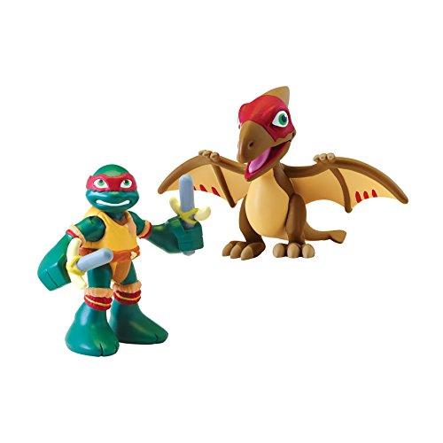 Teenage Mutant Ninja Turtles Pre-Cool Half Shell Heroes Raphael with Pteranodon Figure