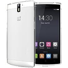 OnePlus One Funda, TUDIA ultra delgado LITE TPU caso de parachoques de protección Funda Carcasas para OnePlus One (Esmerilado Clara)