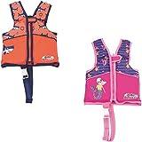 Bestway Swim Safe Schwimmweste, mit Textilbezug, für Kinder 3-6 Jahre (M/L), sortiert