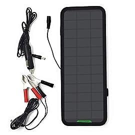 GIARIDE 12V 7.5W Caricabatterie Solare di 12V Batteria Caricatore di Auto Portatile Fotovoltaico Modulo Sunpower…