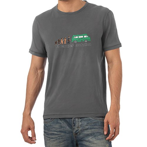 TEXLAB - T3 Camper Evolution Color Edition - Herren T-Shirt Grau