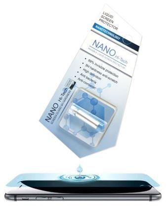 NANO Hi-Tech Screen Guard - Unsichtbare Schutzflüssigkeit für alle Smartphones - 1ML- Liquid flüssiges Panzerglas [flüssiger Displayschutz] [Full Cover Versiegelung] Flüssigglas
