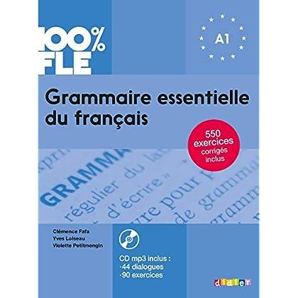 Grammaire essentielle du français niv. A1 2018 - Livre + CD