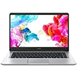 "Huawei MateBook D Laptop da 15.6"", 1080P FHD Ultrabook, Intel Core i3-8130U, 8 GB RAM, 256 GB SSD, Windows 10 Home, Argento"