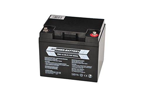 12V 40AH RPower VDS batteria per la rivelazione (BMA, Ema, uema, ELA)