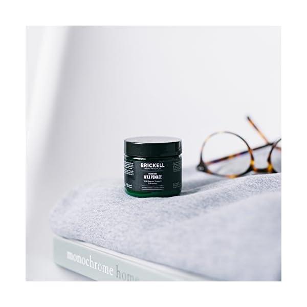 Brickell Men's Products – Pomada para el Pelo Fijación Flexible para Hombres – Natural y Orgánica – 59 ml