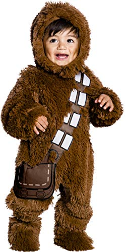 Chewbacca Baby Kostüm - Rubie's Star Wars Chewbacca Plush Fancy Dress Costume Deluxe 2T
