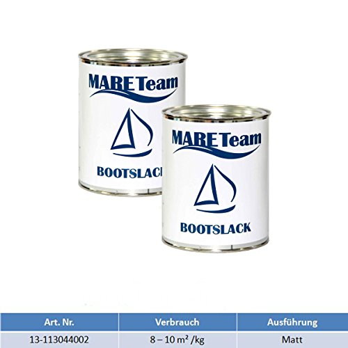 Wildschek - Mareteam Bootslack 750 ml Profiausführung matt 2 x 750 ml