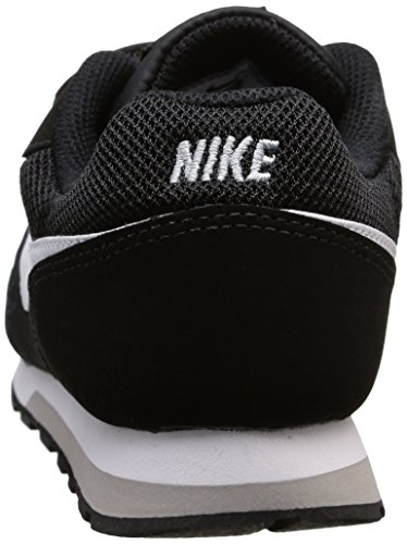 Nike Md Runner 2 (Psv) Scarpe da ginnastica, bambini Nero (Black / White / Wolf Grey)
