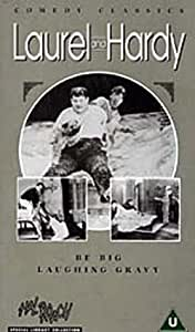 Laurel And Hardy - No. 16 - Be Big/Laughing Gravy [VHS]