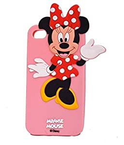 Apple Iphone 5/5g/5s Minnie Mouse back cover color pink