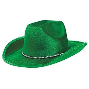 Chapeau de Cowboy Far West Sports Spirit Team Colour - Vert