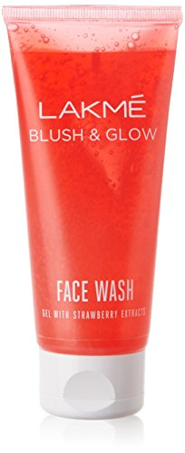 Lakme Blush & Glow Strawberry Gel Face Wash 100 g
