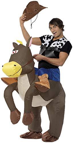 Smiffys Disfraz Hinchable de Vaquero Ride 'Em