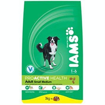 Iams Small/Medium Breed Adult komplett Hundefutter mit Huhn