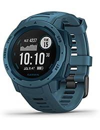Garmin Instinct Reloj Inteligente Azul GPS (satélite) - Relojes Inteligentes (GPS (satélite