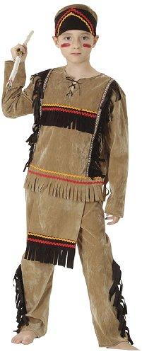 Boland 86945 - Kinderkostüm Indianer Kleiner Adler, Größe 104 - 116
