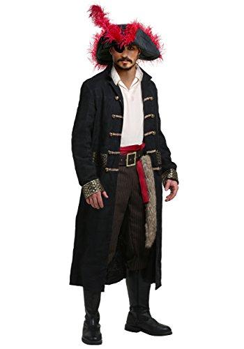 Shipwreck Captain Men's Plus Size Fancy dress costume 2X