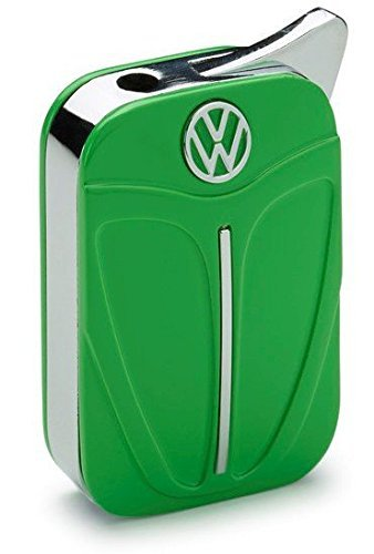 vw-volkswagen-original-kafer-beetle-feuerzeug-in-geschenkbox-grun-form-kaferhaube