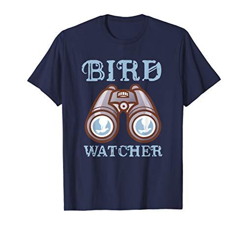 Vogelbeobachter Ornithologe Geschenk Vogelbeobachtung T-Shirt (Hinterhof Vogelbeobachtung Kinder Für)