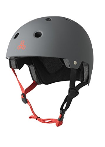 triple-8-brainsaver-helmet-with-eps-rubber-gun-grey-large-x-large