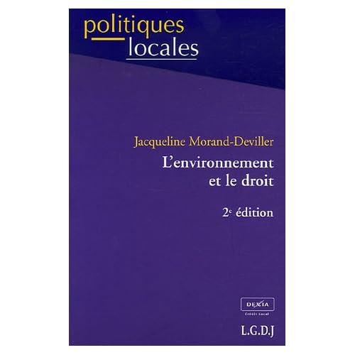 L'environnement et le droit