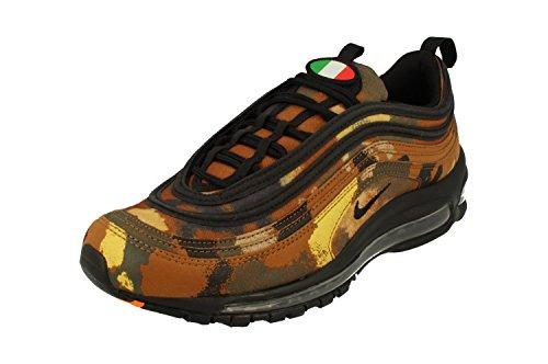 Nike Air Max 97 Premium QS Italy Camo-Pack Schuhe (43 EU, Braun - Ale Brown Cargo Khaki) (Schuhe Nike Jordan 2014)