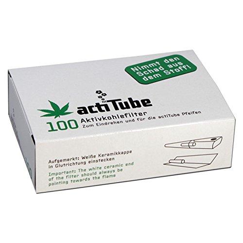 Tune Aktivkohlefilter 100 Stk. - Mehr Rauchgenuss durch Aktivkohle - Spaß Verstopfen