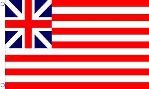 Flagmania® Grand Union USA Military 5ft x3ft (150cm x 90cm) Flagge + 59mm Button