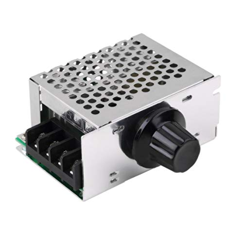 Zinniaya Newest Hot 1pcs 4000W 220V SCR Regulator