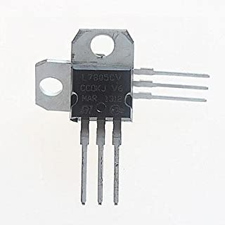 L7805CV Voltage Regulator 5V / 1.5A TO-220 (Pack of 5)