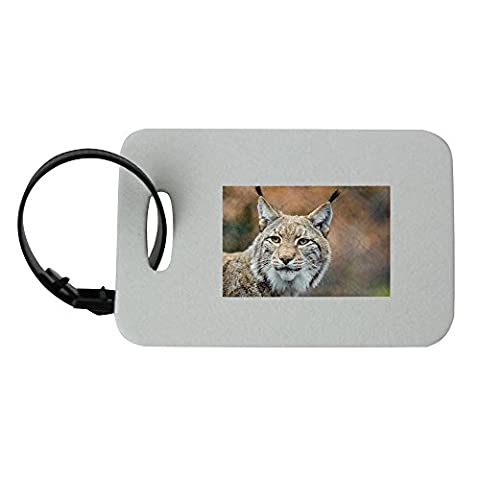 Lynx, Bobcat, Wildlife, Predator, Nature luggage tag (Bobcat Lynx)