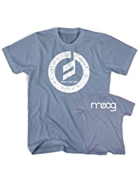 Moog Music t-shirt Stone Blue