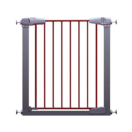 LHA Bettzubehö Leitschiene Baby Kind Sicherheitstür Baby Treppen Tür Kind Zaun Hund Zaun Pole Zaun Isolation Tür (Größe: 77-173cm) (Für Tür Kinder Zaun)
