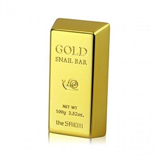The Saem – Gold Snail Bar – Savon pour le visage