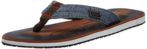 Sparx Men's Brown and White Flip-Flops and House Slippers - 7 UK/India(40.67 EU)(SF0037G)