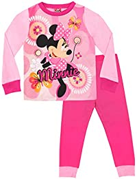 Disney Pijamas de Manga Larga para niñas Minnie Mouse