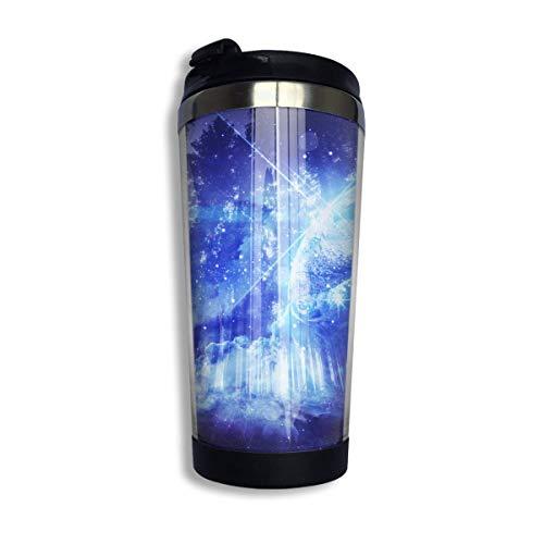 Jungle Moonlight 13 oz Kaffeebecher Tasse Vakuumisoliert mit Dichtigkeit